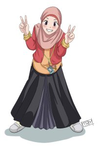 muslimah_by_artasic-d4wlgsw