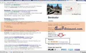 Capture Candi Borobudur
