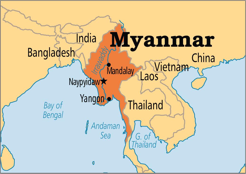 Gambar Negara Myanmar Mystical Visa Myanmar Ibu Muda
