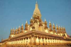 Wat That Luang | simbol Laos