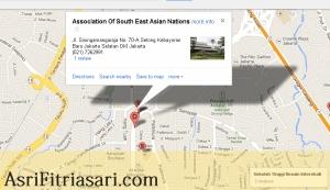 ASEAN map Jakarta